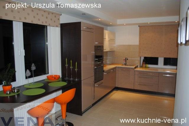 Meble kuchenne Lublin - Vena - Kuchnia w kolorze cappuccino