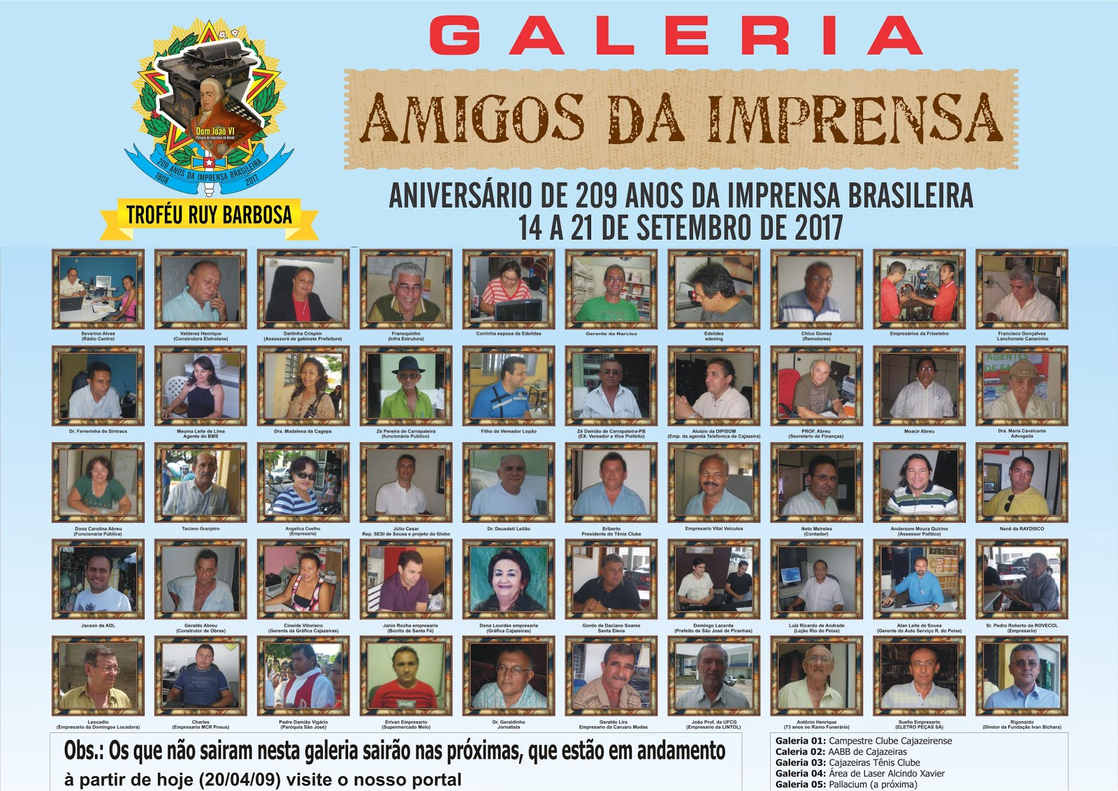 GALERIA RENOVADA  AINDA A PRIMEIRA  DO ANO 2002