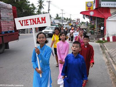 ASEAN parade Vietnam