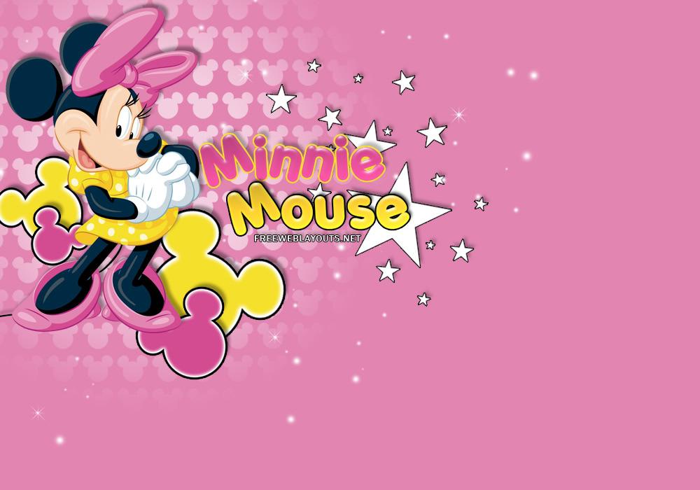 Della Knox Minnie Mouse Wallpaper