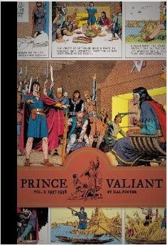 Books in my collection: Prince Valiant Vol. 1 by Hal Foster (Fantagraphics)