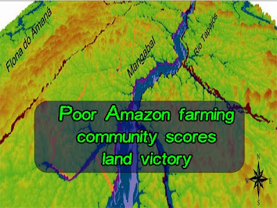 Poor Amazon farming community scores land victory