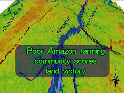 Poor Amazon farming community scores land victory