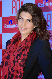 Actress Jacqueline Fernandez  Pictures at Roy Movie Promotions  17
