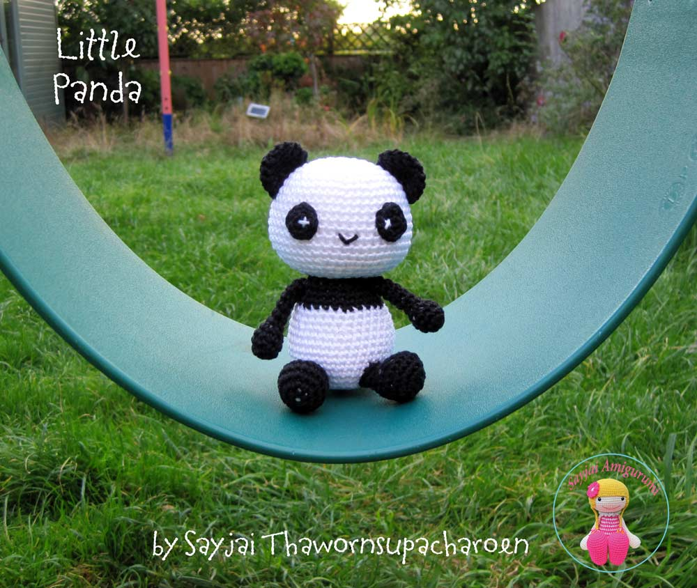 kleiner panda amigurumi anleitung kostenlos amigurumi. Black Bedroom Furniture Sets. Home Design Ideas
