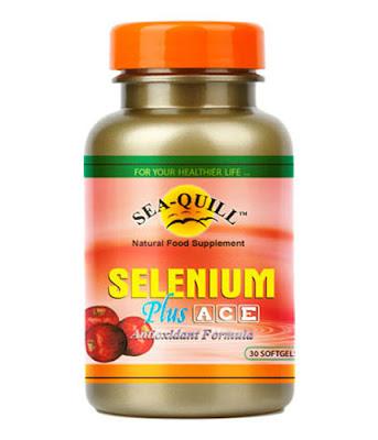 Sea Quill Selenium Plus ACE Formula Super Antioksidan