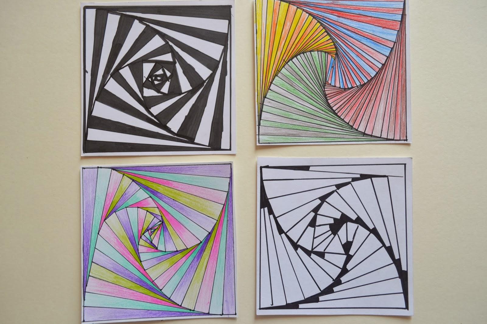 Op Art Line Design Lesson : Steam op art spider webs lessons tes teach