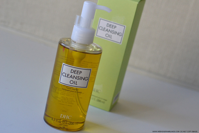 DHC Deep Cleansing Facial Oil - Waterproof Makeup Remover - Cleanser