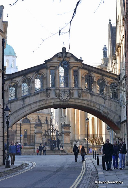 Bridge of Sighs, Oxford stlye, New College lane