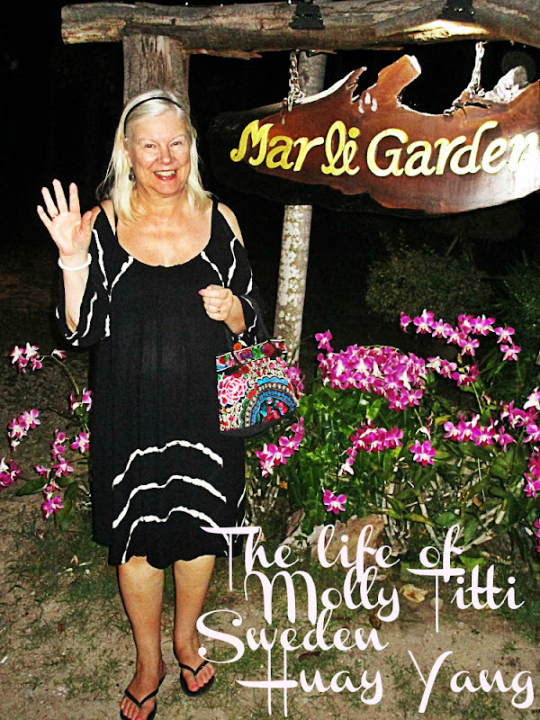 The life of Molly-Titti....Sweden....Huay Yang.....Bangkok.....