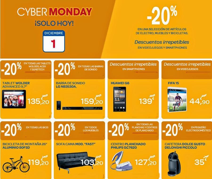 Ofertas Cyber Monday 2014 Carrefour