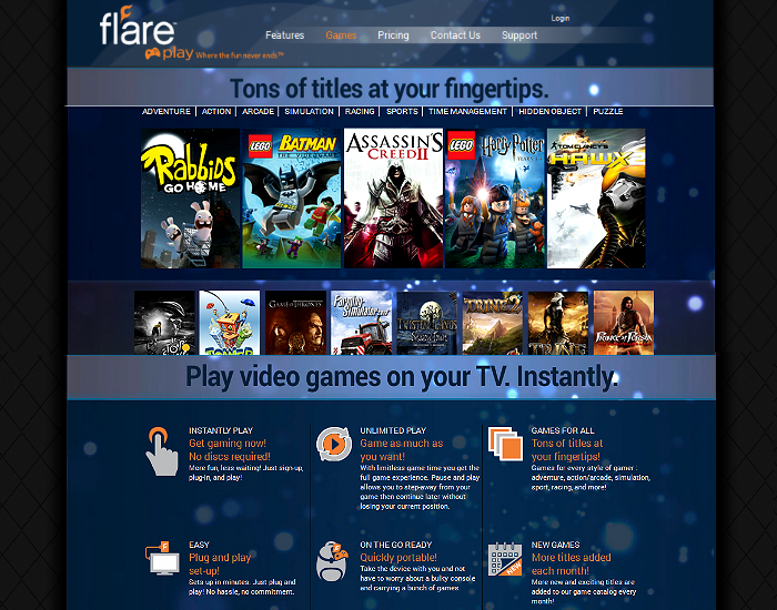 Flare Play Gaming