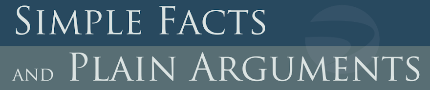 Simple Facts and Plain Arguments