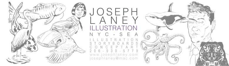 Joseph Laney Illustration