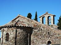 L'absis i el campanar de Sant Vicenç de Vilarassa. Autor: Carlos Albacete