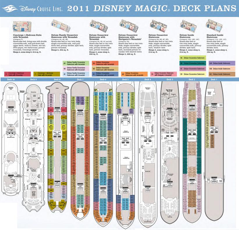 15 Navigator Of The Seas Deck Plan 8 Promenade