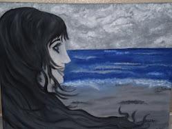 La arena se alzó sobre sí misma para poder ver el mar