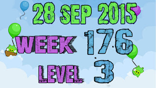 Angry Birds Friends Tournament level 3 Week 176