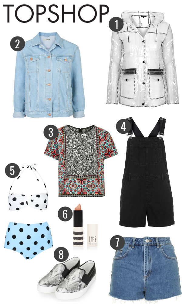 Spring Summer Topshop Wish List