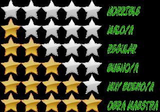 Sistema de valoración por estrellas