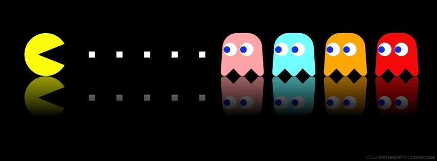 Couverture Facebook Pacman