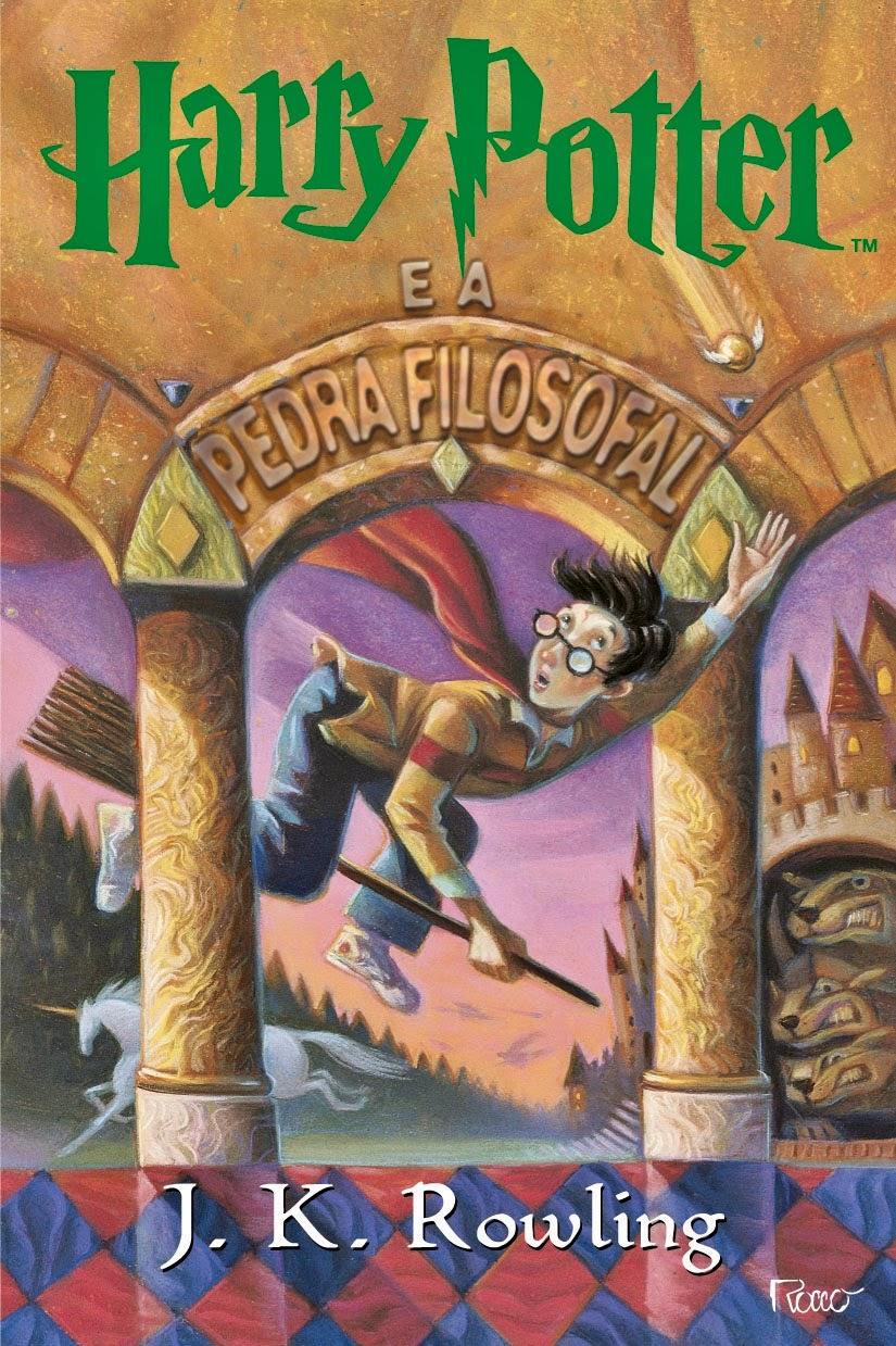 Harry Potter e a Pedra Filosofal Livro e Filme