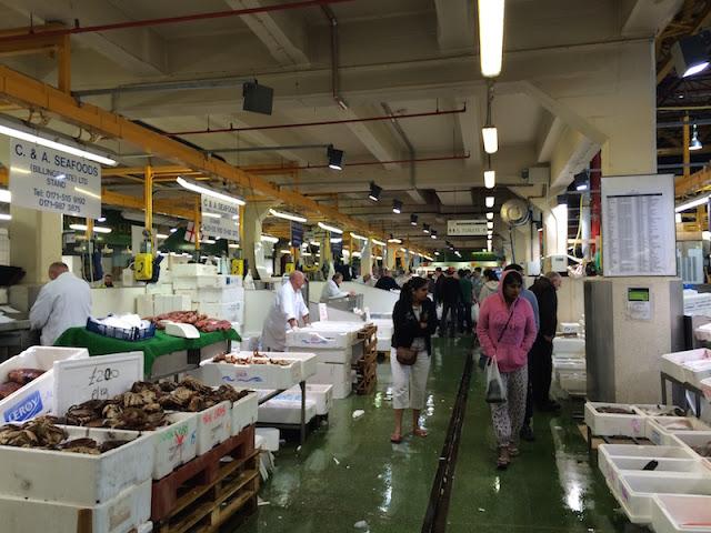 Billingsgate Market inside