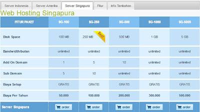 Mau Bikin Website + Hosting Murah AbizZ Ke Rajawebhost.com aja! server singapura