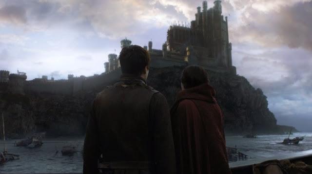 Melisandre y Gendry fortaleza roja - Juego de Tronos en los siete reinos