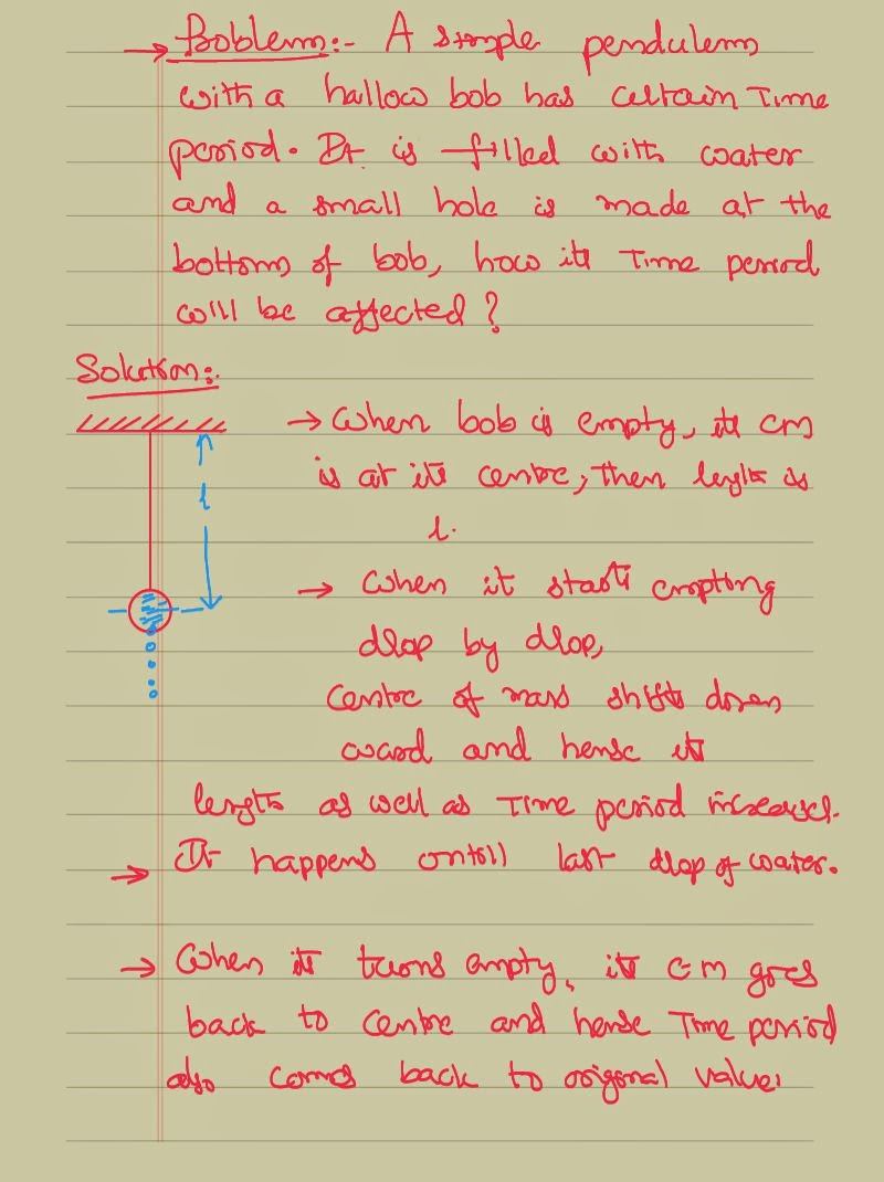 physics pendulum problems Physics forces equation for force simple pendulum top  simple pendulum problems back to top the following are the problems of simple pendulum.