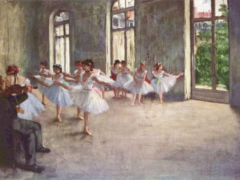 О балете, Балет в живописи