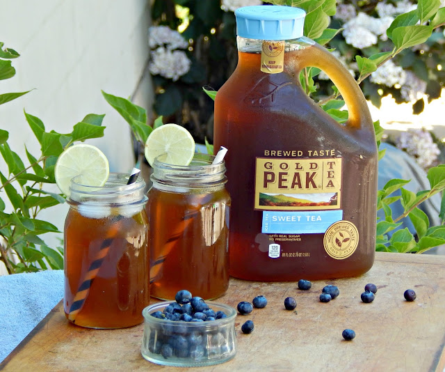 How to create a memorable outdoor this summer #sp #goldpeaktea