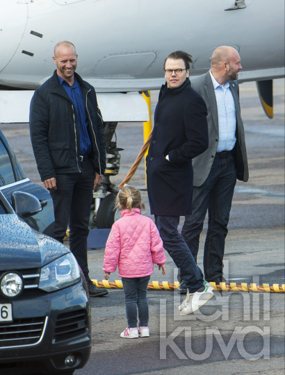 Crown Princess Victoria Of Sweden Prince Daniel And Their Daughter