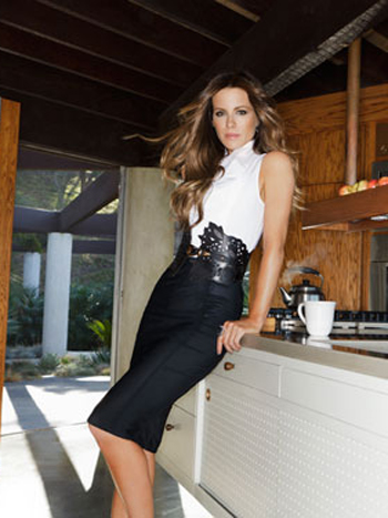 Kate Beckinsale Hiarstyle on Redbook Magazine January 2012 - 5
