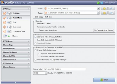 DVDFab HD Decrypter Offline Installer Free Download