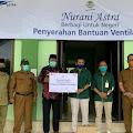 Peduli COVID-19, PT PLB Serahkan Bantuan Ventilator ke RSUD Aceh Singkil