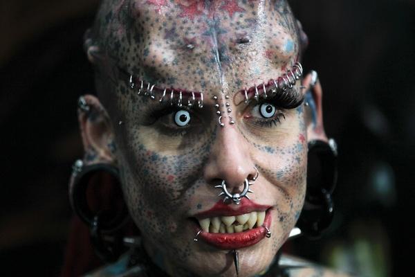 смотреть фото самые страшные люди в мире