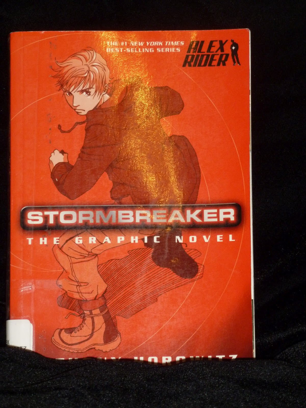 alex rider stormbreaker book report Read book review: stormbreaker (alex rider, #1) by anthony horowitz they told him his uncle died in an accident he wasn't wearing his seatbelt, they said but.