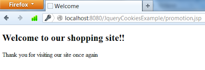 Setting and Getting Cookies using jQuery Cookie plugin