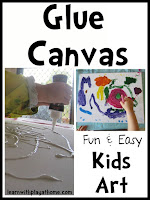 art for kids, fun art, canvas art