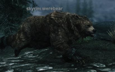 how to conjure werebear in skyrim