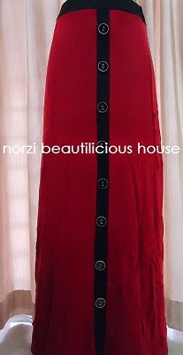 NBH0054 BUTTON SKIRT