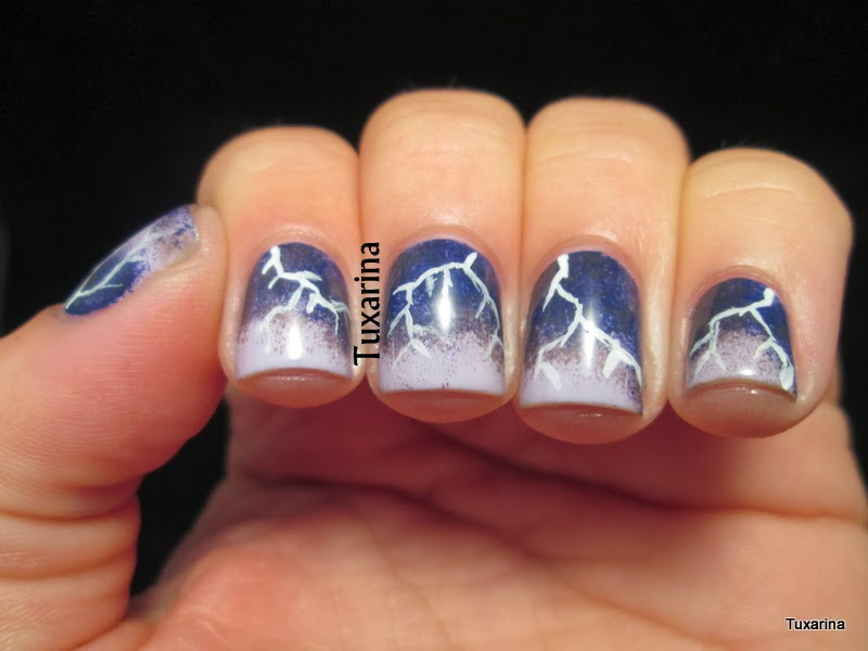 guy s favorite nail art Zebra Acrylic Nail Art