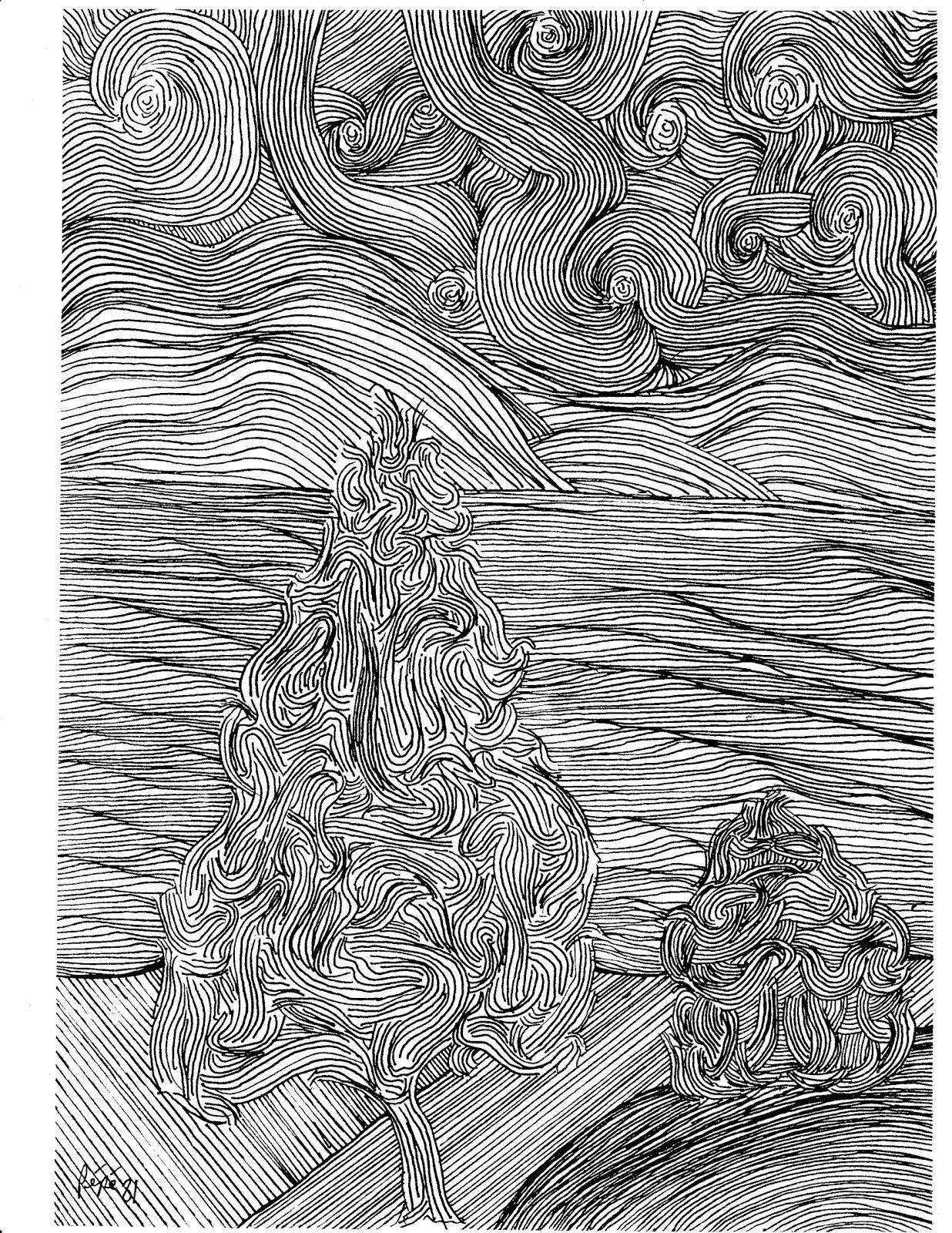 Line Art Ink : Peter g pereira