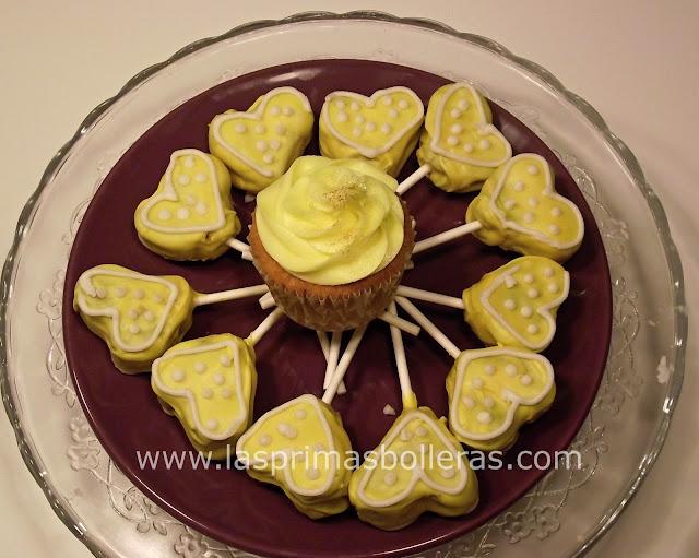 Cakepops corazón