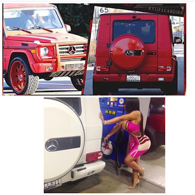Kylie's 18th Birthday Present From Tyga: Blac Chyna's G-Wagon