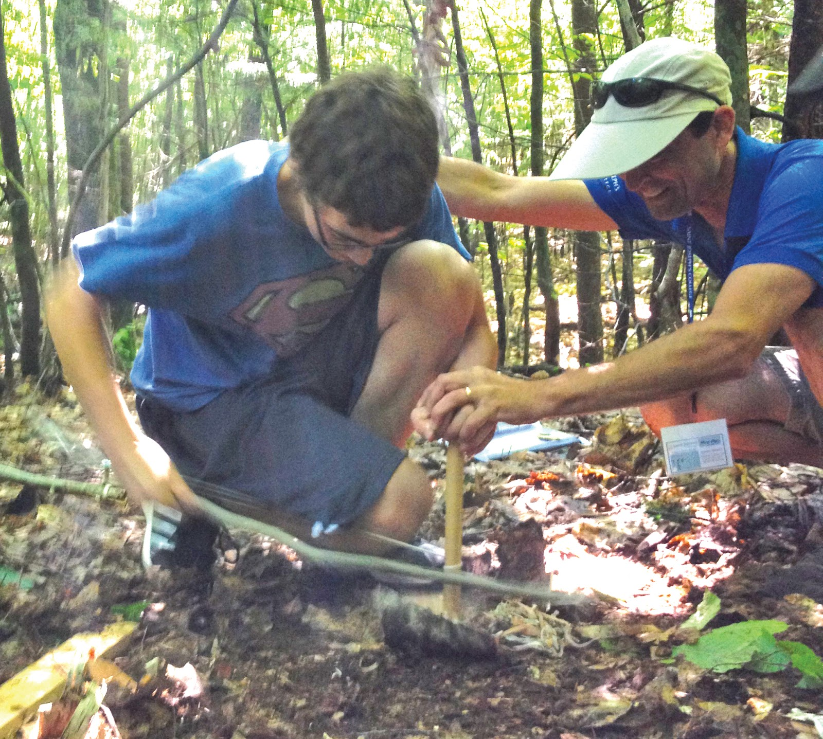 Survival Skills: The Windham Eagle: High School Students Learn Survival