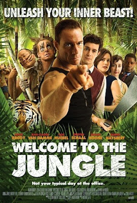 Welcome To The Jungle con Van Damme