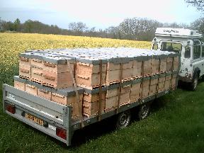 Venta de remolques para colmenas