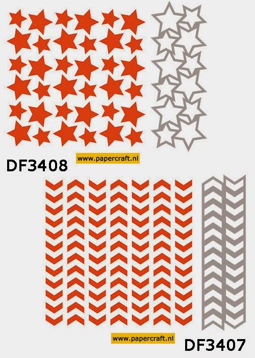 Design Folders Marianne Design DF3406 en DF3407